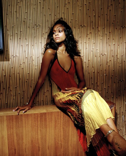 "Celebrity Nude Century: Zoe Saldana (The Blue Girl-""Avatar"""