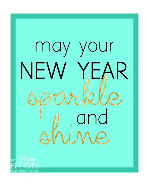 New Year sparkle and shine