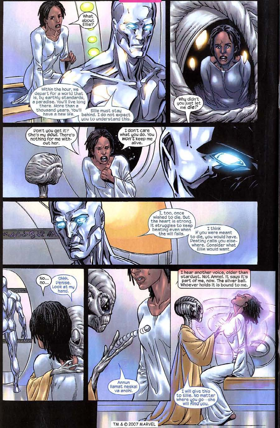 Read online Silver Surfer (2003) comic -  Issue #10 - 32