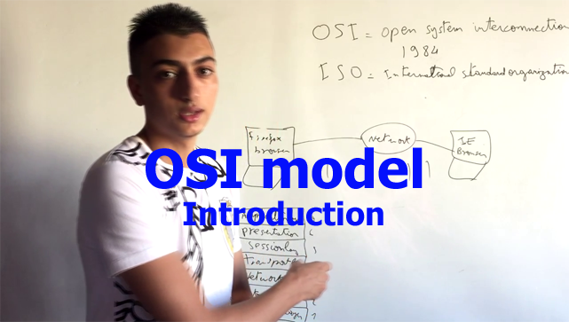 OSI (Open Systems Interconnection) reference model