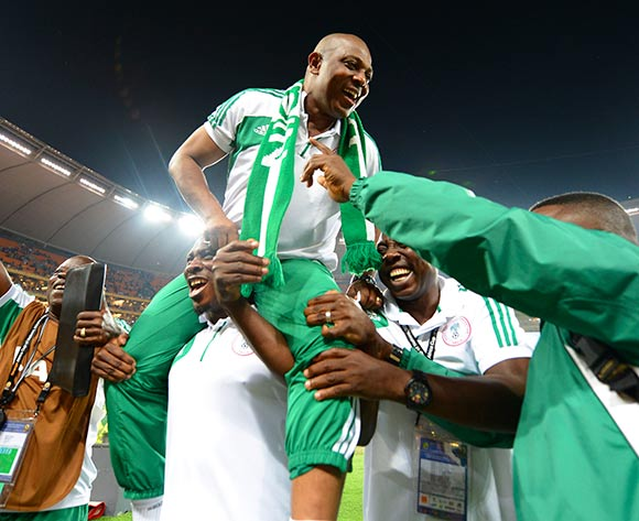 afcon+champ+keshi+2 - Good moment of Super Eagles- Photos