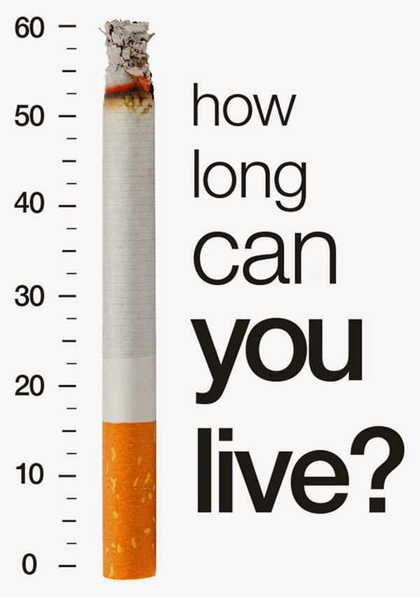 smoking reduce your live