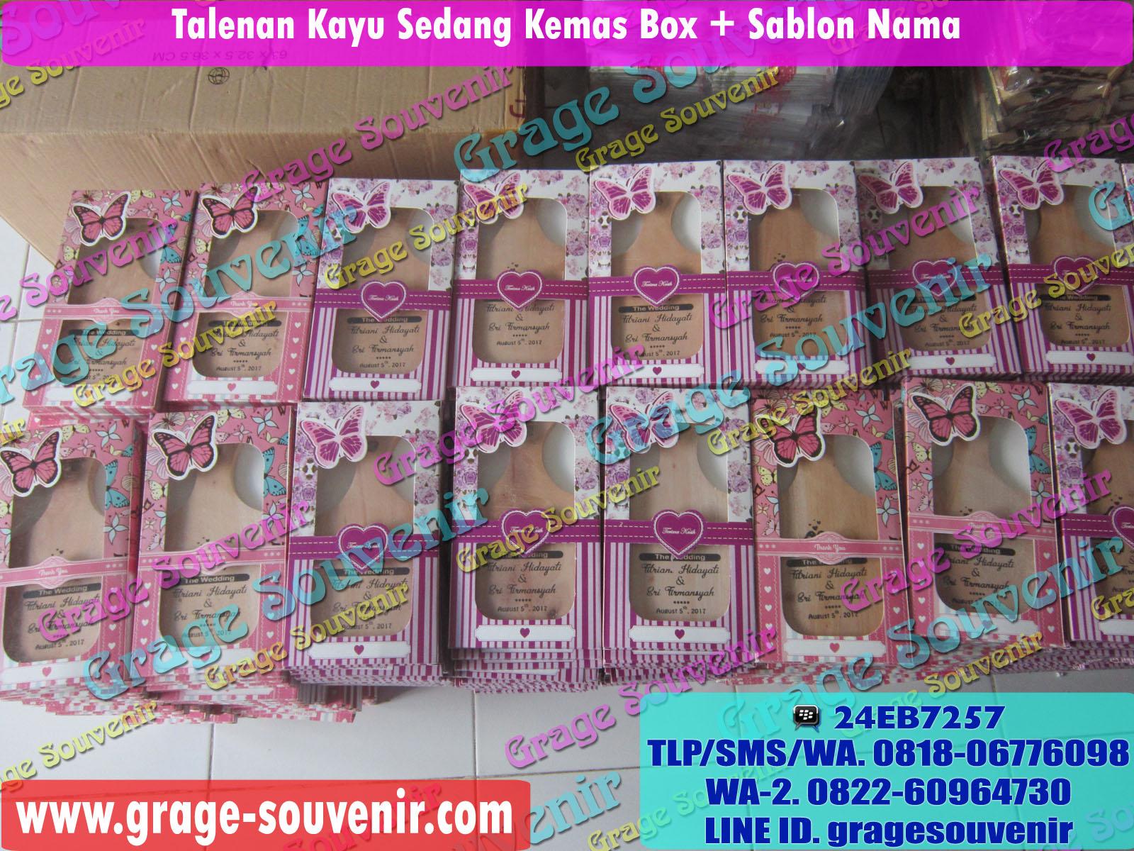 Grosir Talenan Kayu Murah Kemas Box