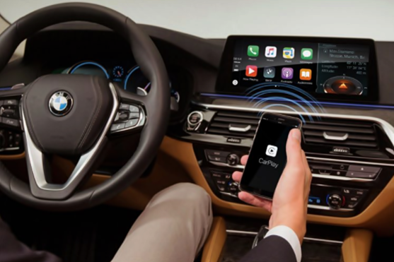 2017 BMW 5 Series Wireless Apple CarPlay