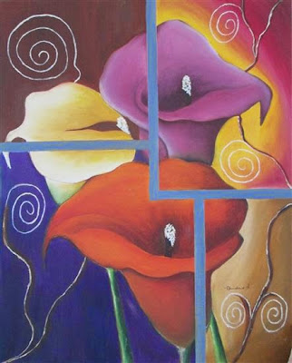 Painting by Dhanashree Adapawar, Oil on Canvas, 20 x 16 inches (part of her portfolio on www.indiaart.com)