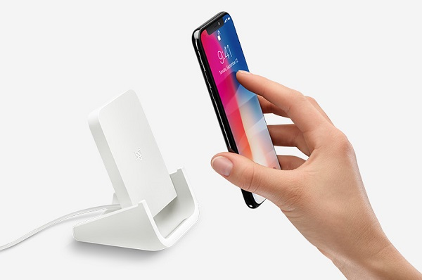 Logitech POWERED wireless charging stand for iPhone 8, iPhone 8 Plus and iPhone X announced