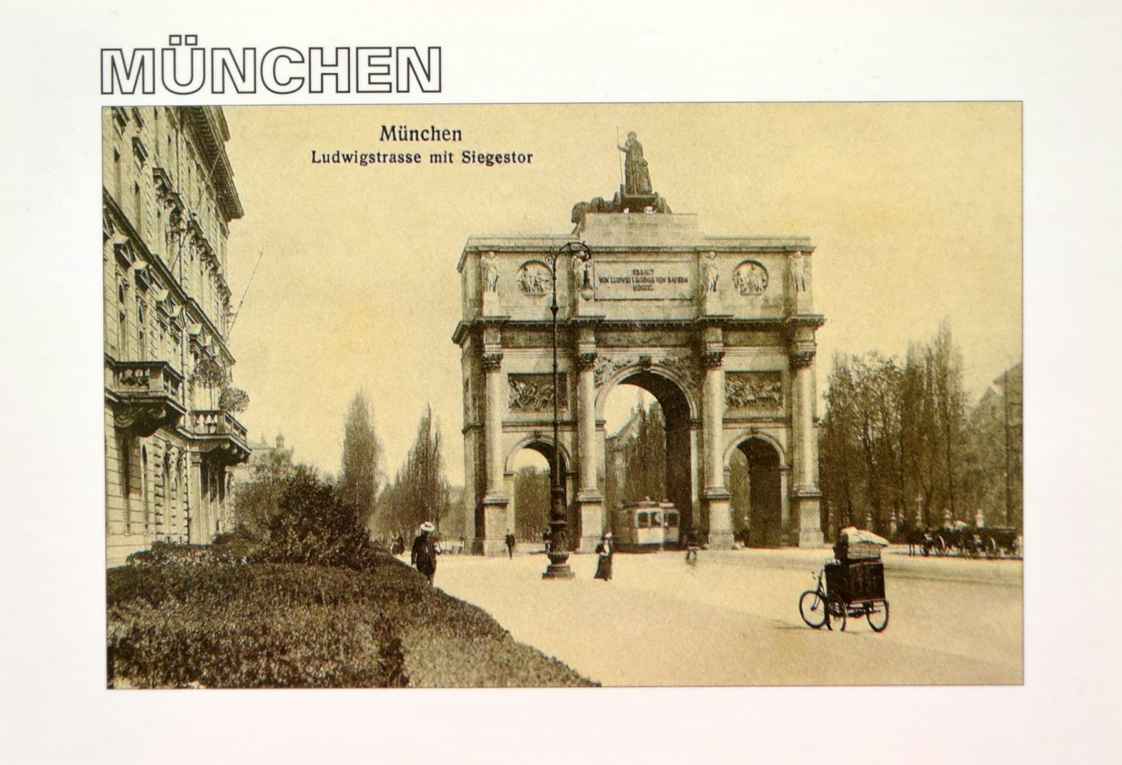 The history of the city Munich | Memories That Remain - Postcrossing Blog