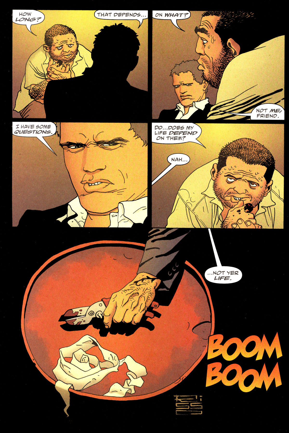 Read online 100 Bullets comic -  Issue #80 - 3