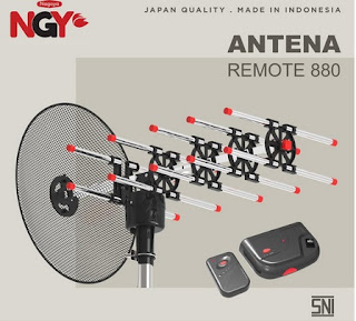 Antena TV Outdoor NAGOYA NGY Antenna Remote 880 - NG880AR