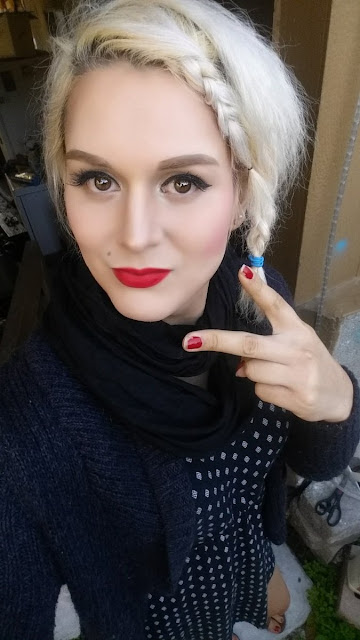 Crossdress tgirl Red Lips