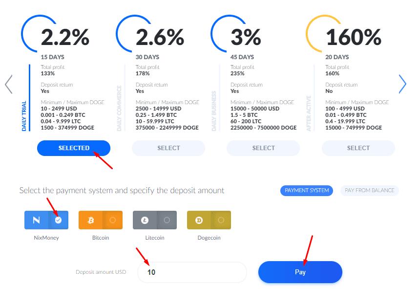 Регистрация в Bitify 4