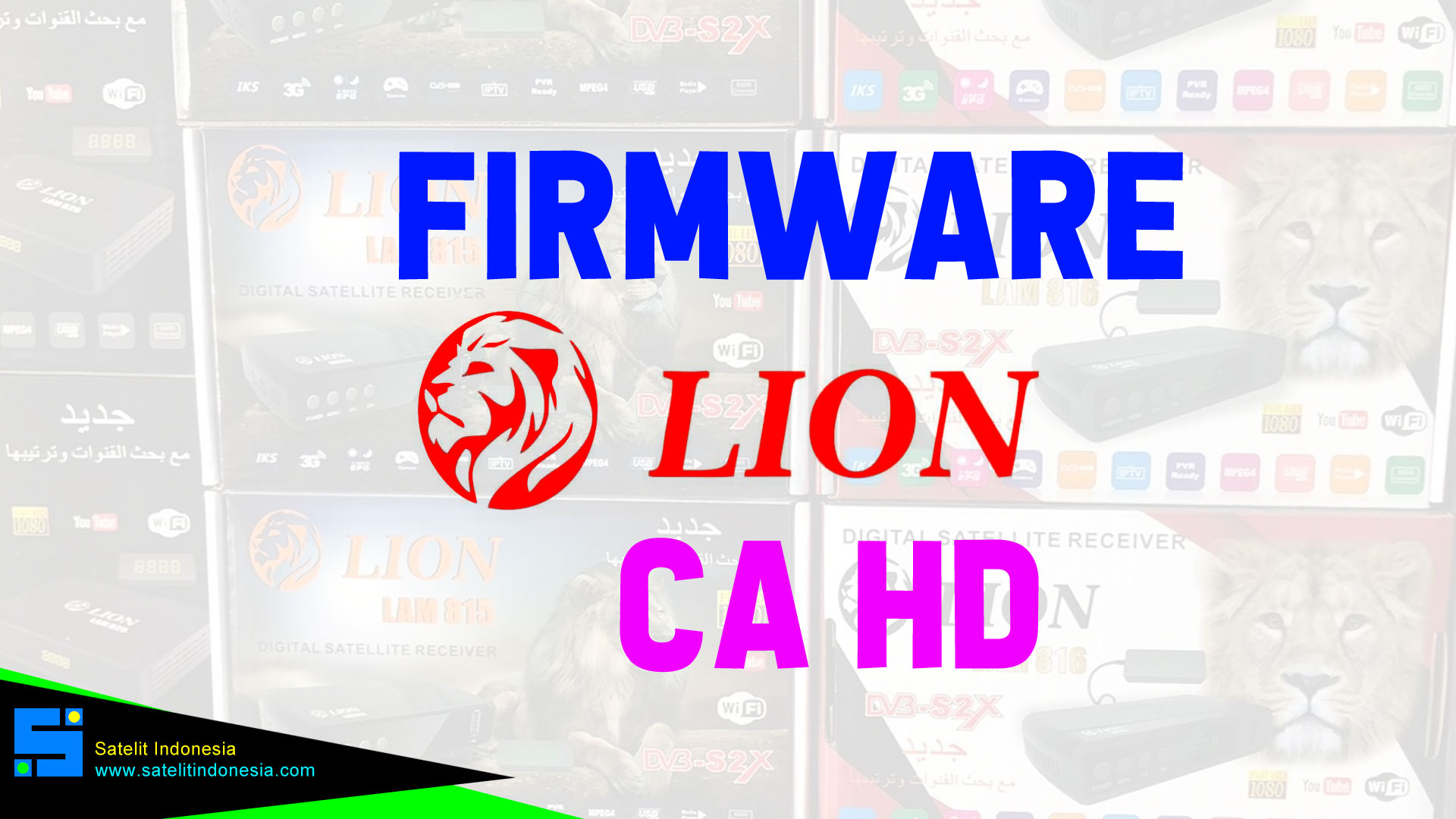 Download Software Lion CA New Update Firmware Receiver Set To Box