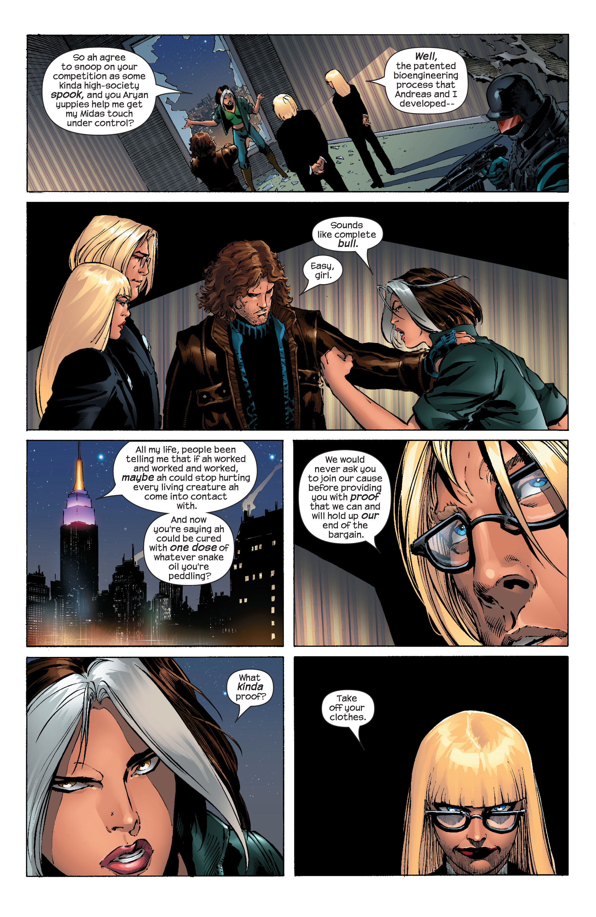 Read online Ultimate X-Men comic -  Issue #52 - 4