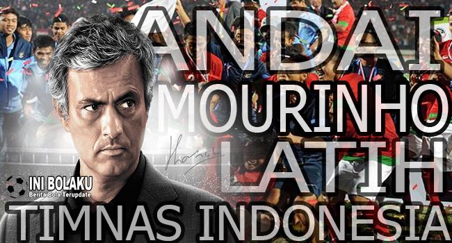 Di Inginkan Menpora, Ini Yang Bakal Terjadi Jika Mourinho Latih Timnas Indonesia?