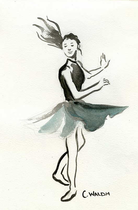Cincinnati Illustrators Blog A Night Of Sketching At Modern Makers The Cincinnati Ballet Presents Dance Draw
