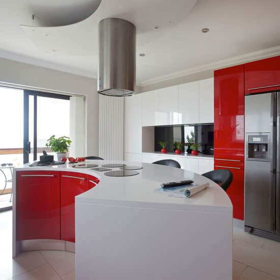 white and red kitchen cabinets 199 ay saati mutfak adaları 1744