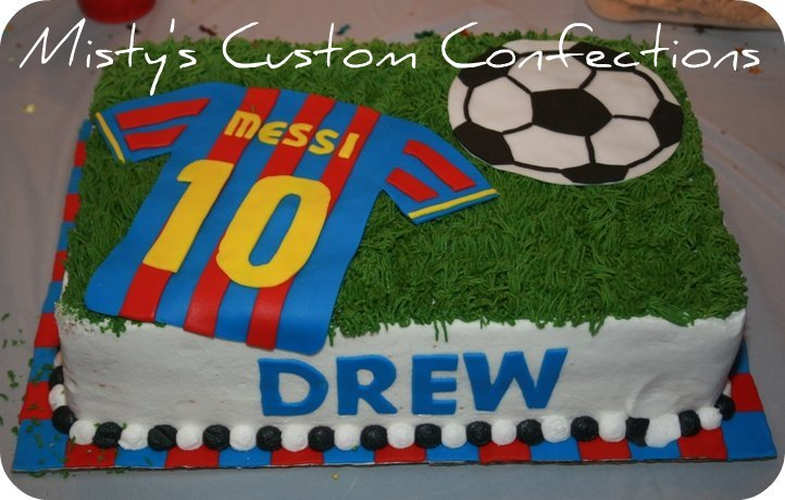 How To Make Soccer Jersey Cake