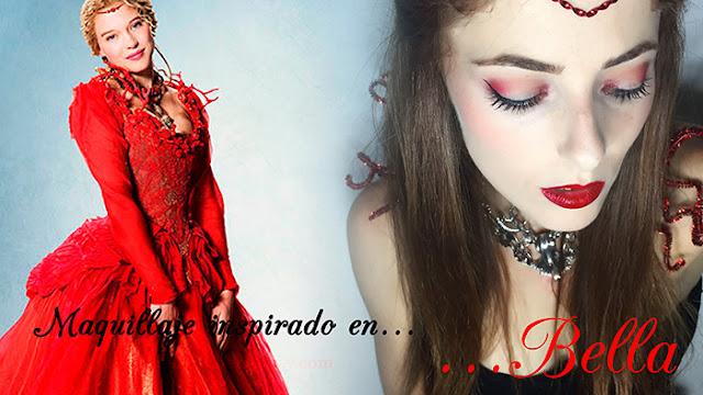 """Maquillaje """"Bella y Bestia"""""""