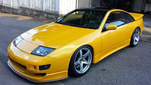 Yellow 1990 Nissan 300ZX Twin Turbo | Auto Restorationice