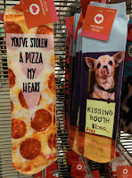 stolen a pizza my heart socks TARGET chihuahua kissing booth