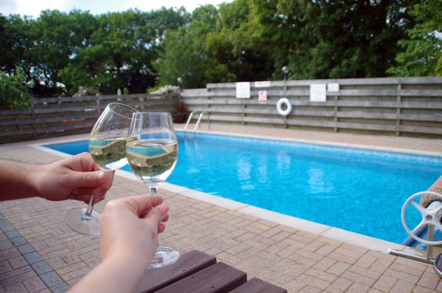 Glamping Cornwall Swimming Pool
