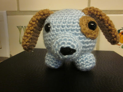 Roly Dog Crochet Pattern