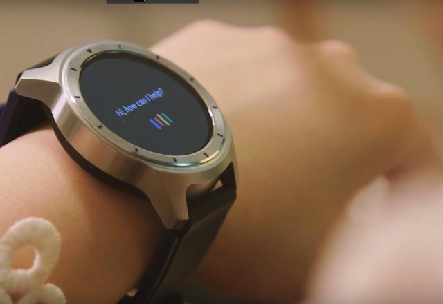 ZTE Quartz Android Wear 2.0 smartwatch