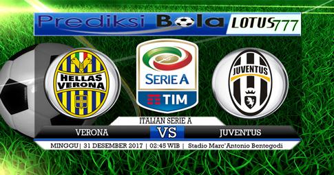PREDIKSI  Verona vs Juventus   31 DESEMBER 2017