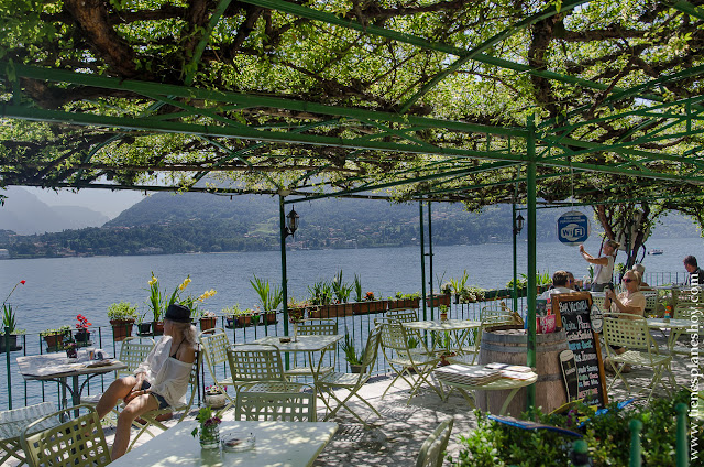 Tremezzo Lago di Como viaje Italia