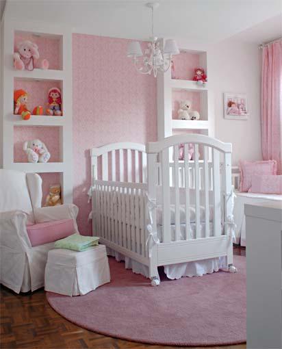 Bellos dormitorios para bebés recién nacidas - Dormitorios ...