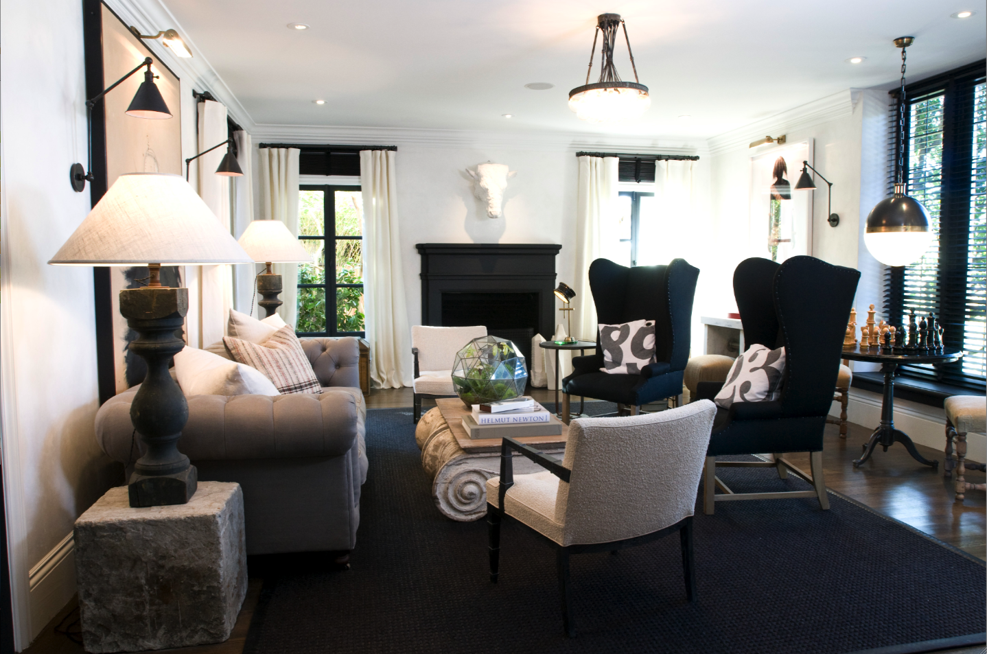 Home Design Living Room Ideas: Tiffany Leigh Interior Design: Sophisticated Decor Touch
