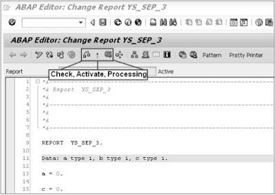 SAP ABAP - Screen Navigation