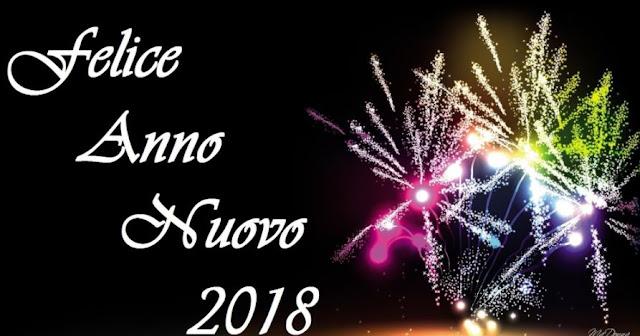 Buon Anno 2018 Felice Anno Nuovo