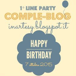 1° Linky Party - Comple-Blog -www.inartesy.blogspot.it