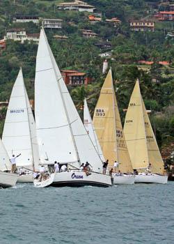 adeeebd2ae Os velejadores já se preparam para uma das regatas que une o prazer de  velejar à boa gastronomia