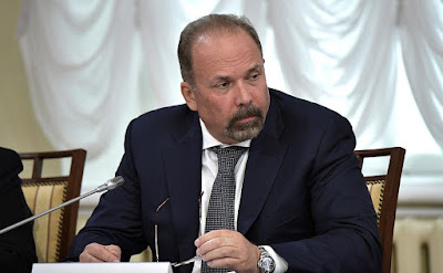 Minister of Construction and Housing and Utilities Mikhail Men at a meeting of the Council for the Local Self-Government Development.