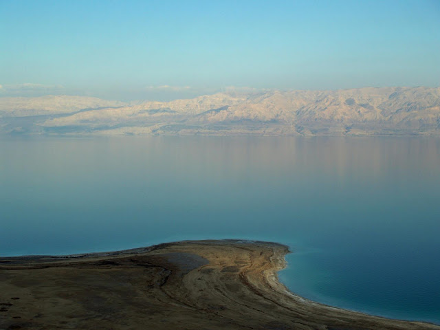 Under the Dead Sea, warnings of dire drought