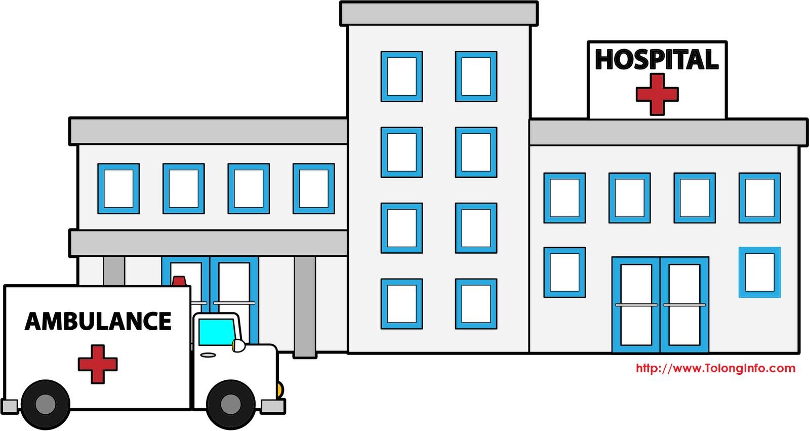 6400 Gambar Kartun Gedung Rumah Sakit HD Gambar