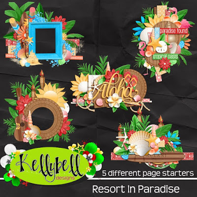 Resort in Paradise Page Starters