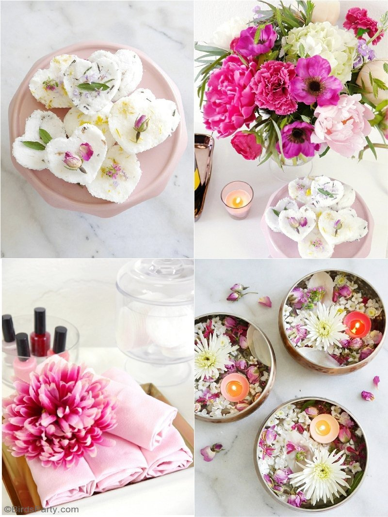 A Relaxing Home Spa Party for Mother\'s Day - Party Ideas | Party ...
