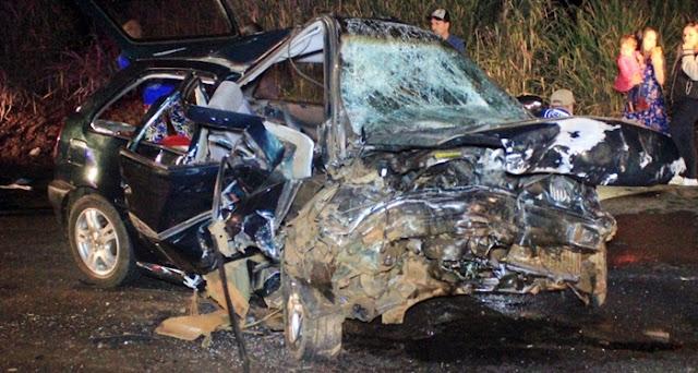 Campo Mourão: Mãe e filha morrem em trágico acidente na noite de domingo