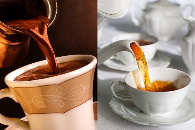 تناول القهوة والشاي يقلل من خطر الوفاة بأمراض القلب