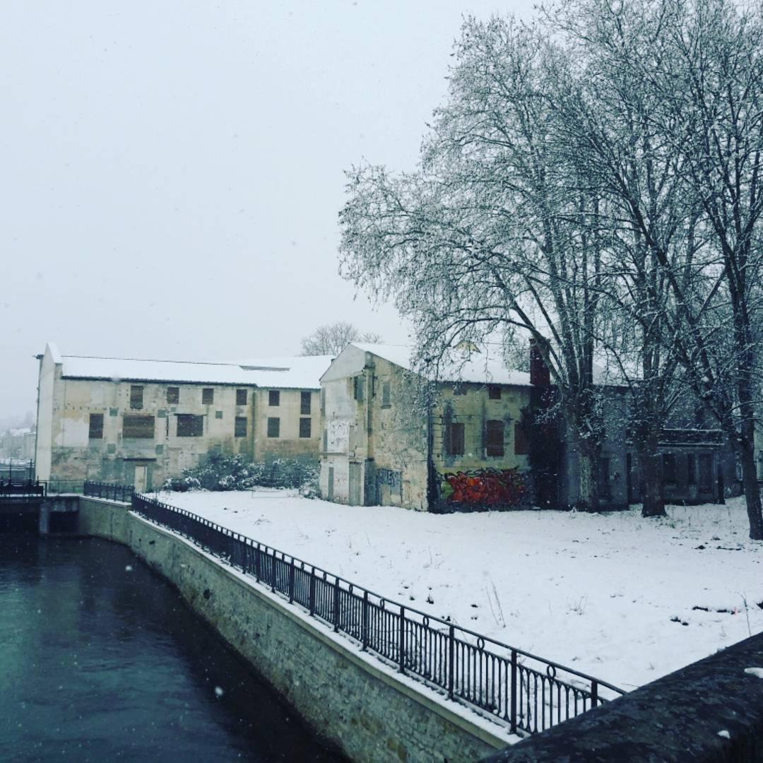 Neige à Niort, février 2018