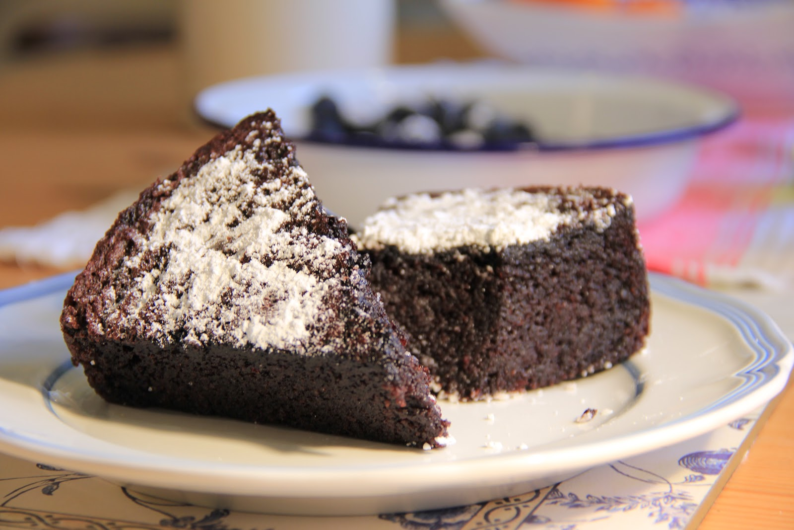 Olive Oil Chocolate Cake Chatelaine