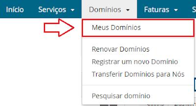 configurar domínio blogger superdominios