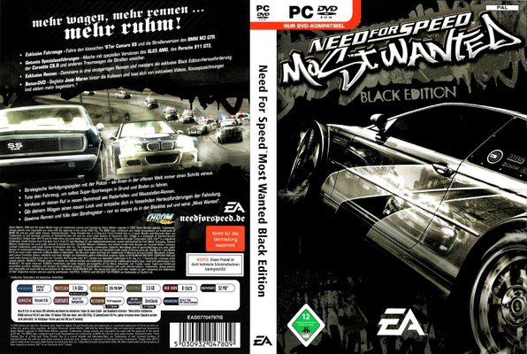 Jual Game Pc Tasikmalaya: Need For Speed Most Wanted Black