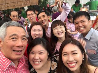 Yuantai and PM Lee