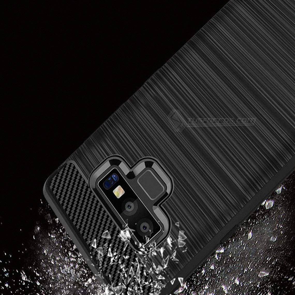 Samsung Galaxy Note 9 Forro Fibra de Carbono Anti-Shock