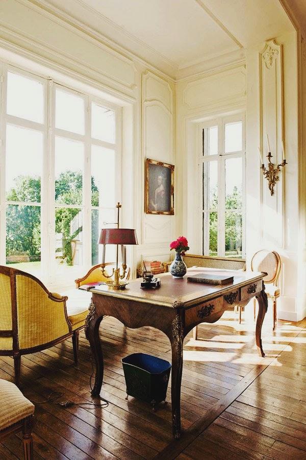 décor inspiration places : la socelière, the loire valley