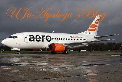 Aero Contractors explains why its plane engulfed in smoke